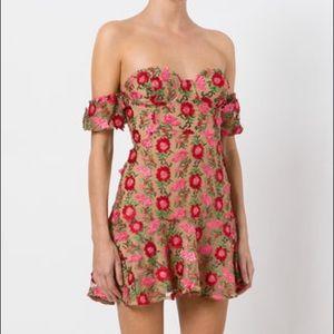 For love and lemons Amelia strapless dress